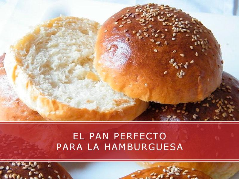 El pan perfecto para la hamburguesa