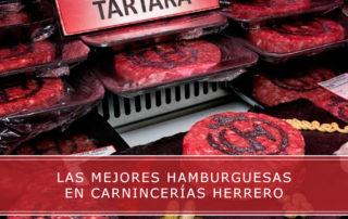 las mejores hamburguesas en carnicerias Herrero