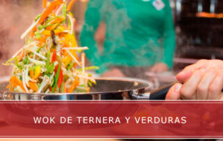 Wok de ternera y verduras Carnicerías Herrero