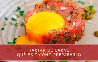 tartar de carne que es y como prepararlo Carnicerias Herrero