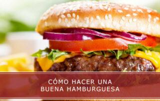 como hacer una buena hamburguesa