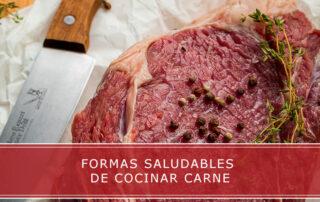 formas saludables de cocinar carne