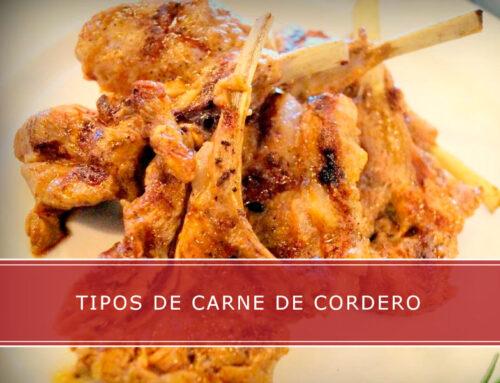 Tipos de carne de cordero con Carnicerías Herrero