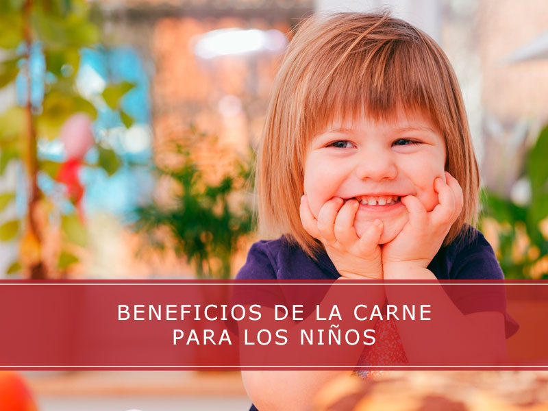 beneficios de la carne para los niños