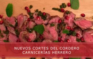 nuevos cortes del cordero Carnicerias Herrero