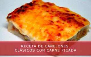 receta de canelones clásicos
