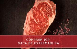comprar IGP vaca de Extremadura