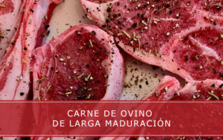 carne de ovino de larga maduración