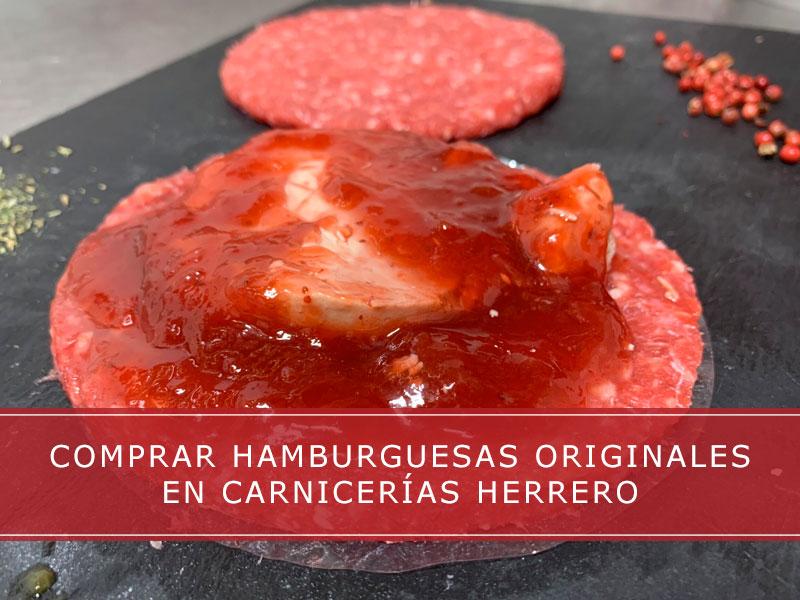 Comprar hamburguesas originales en Carnicerías Herrero