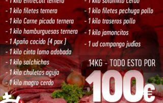 Lote de carne para la cuarentena