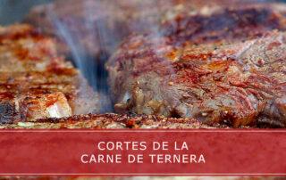 Cortes de la carne de ternera