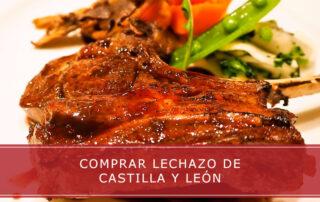 Comprar lechazo de Castilla y León