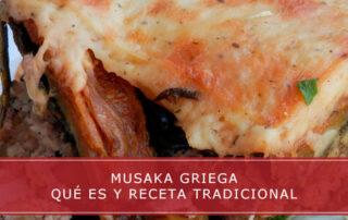 musaka griega que es y receta tradicional