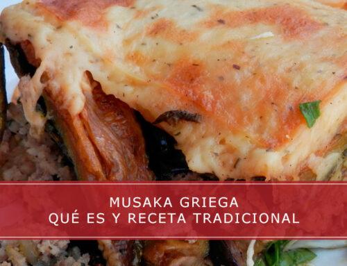 Musaka: hoy toca cocina griega