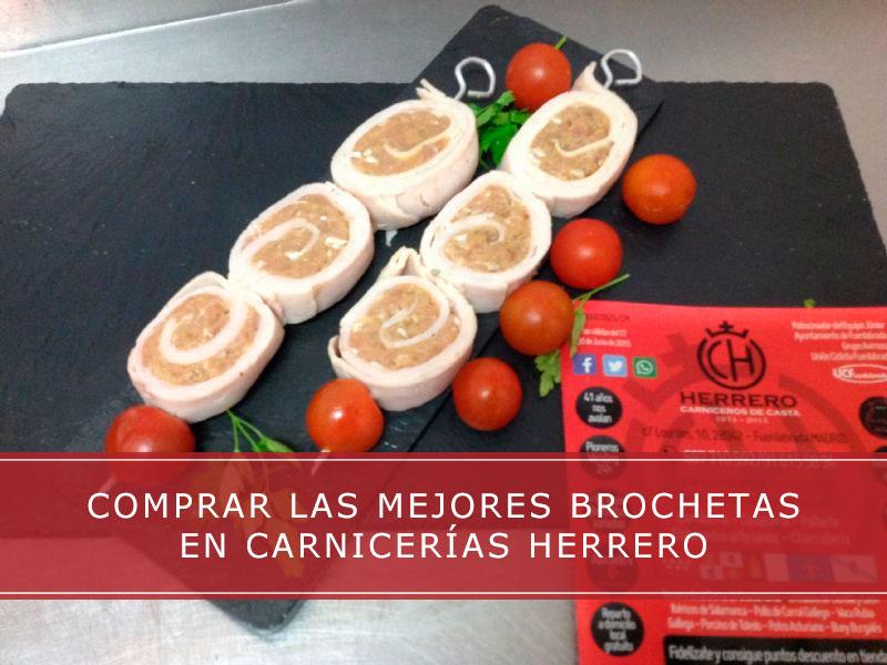 comprar brochetas en Carnicerías Herrero