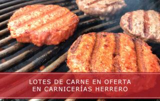 lotes de carne en oferta en Carnicerías Herrero