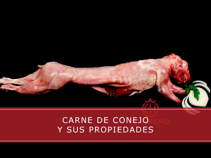 carne de conejo y sus propiedades - Carnicerías Herrero
