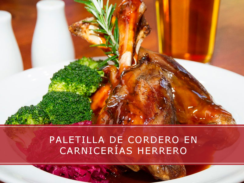 paletilla de cordero en Carnicerías Herrero