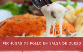 pechugas de pollo en salsa de queso Carnicerías Herrero