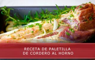receta de paletilla de cordero al horno Carnicerías Herrero