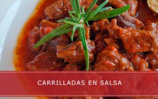 carrilladas en salsa - Carnicerías Herrero