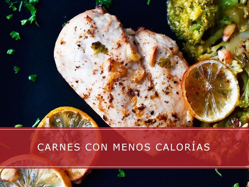 Carnes con menos calorías