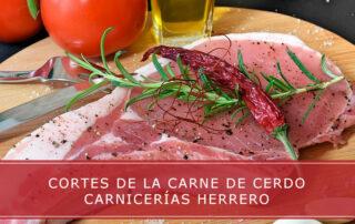 Cortes de la carne de cerdo - Carnicerías Herrero