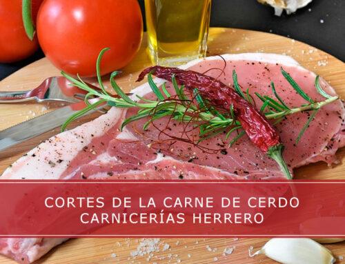 Cortes de la carne de cerdo
