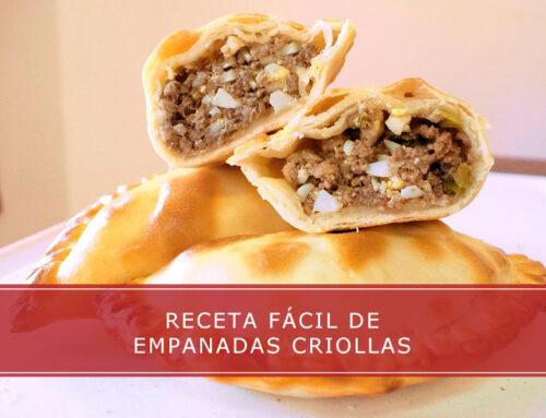 Empanadas criollas, receta fácil