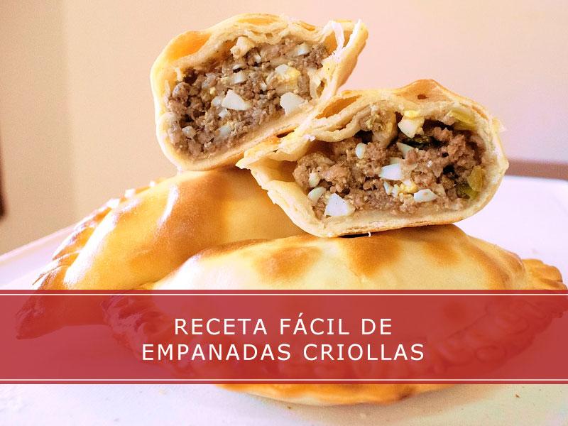 Empanadas criollas, receta fácil - Carnicerías Herrero