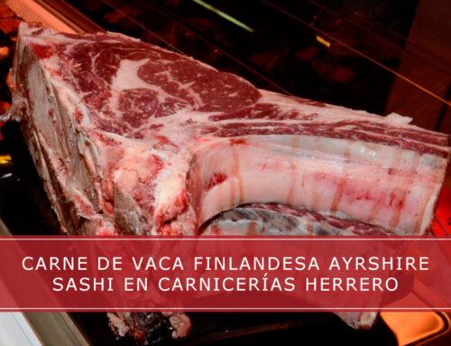 Carne de vaca finlandesa Ayshire Sashi en Carnicerías Herrero