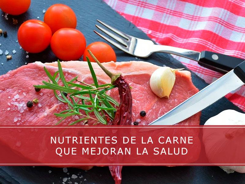 Nutrientes de la carne que mejoran la salud - Carnicerías Herrero