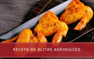 Receta de alitas agridulces - Carnicerías Herrero