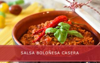 Salsa boloñesa casera - Carnicerías Herrero
