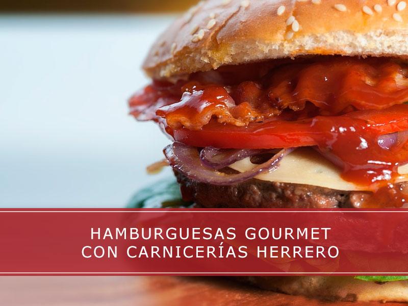 Hamburguesas gourmet con Carnicerías Herrero