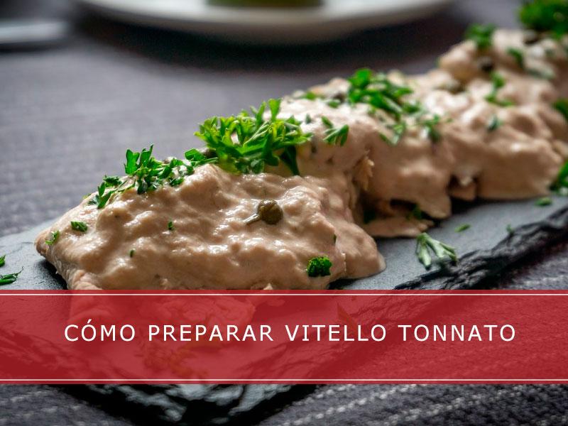 Vitello Tonnato - Carnicerías Herrero