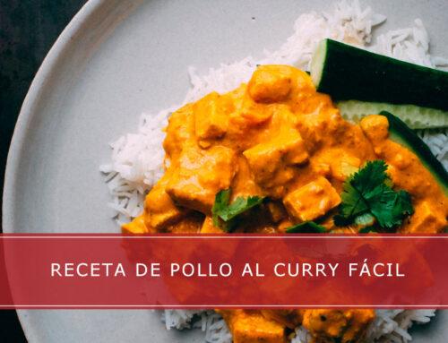 Receta de pollo al curry fácil