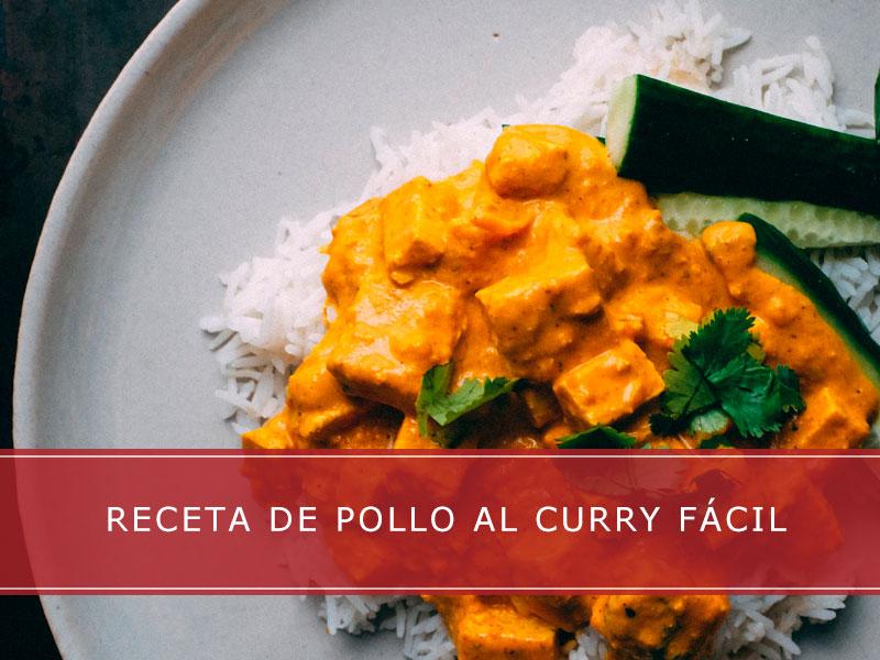 Receta de pollo al curry fácil - Carnicerías Herrero
