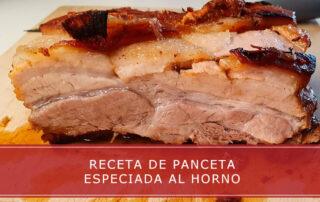 receta de panceta especiada al horno - Carnicerías Herrero