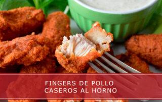 Fingers de pollo caseros al horno - Carnicerías Herrero